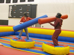 Jousting inflatables