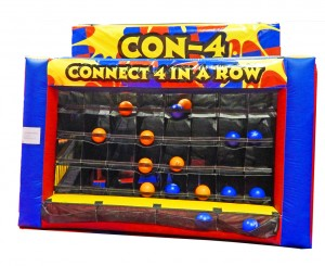 Connect 4 game inflatable